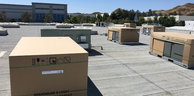 new HVAC units