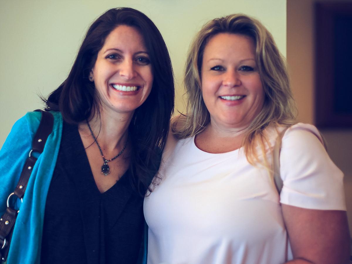 Clinical consultant Sasha and Clinical consultant Terri