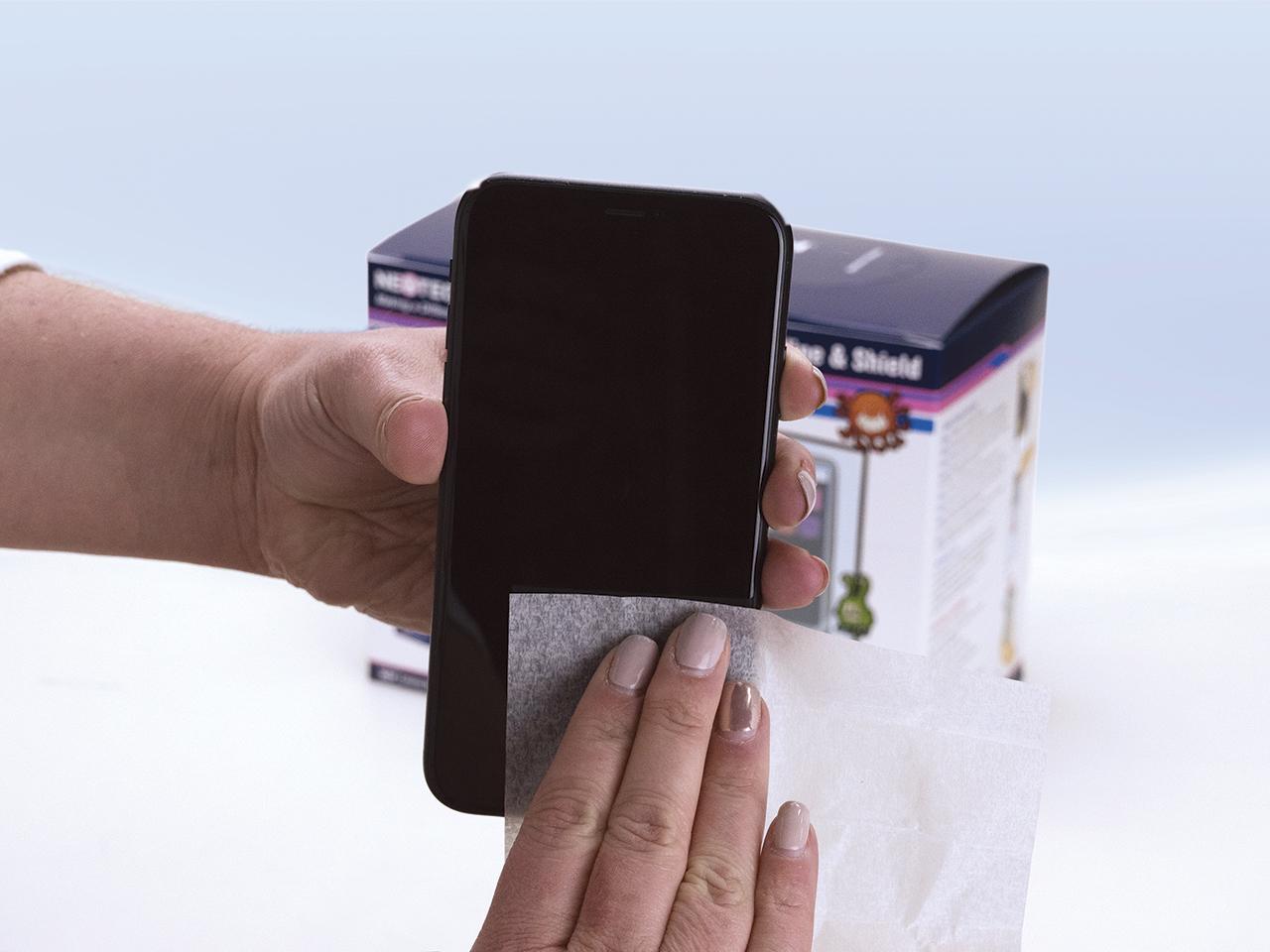 Wipe phone